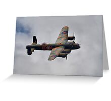 Dambusters 70 Years On - BBMF Lancaster - HDR Greeting Card