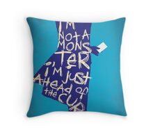 The Dark Knight - Joker: Ahead of the Curve Throw Pillow