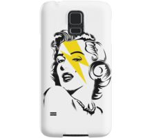 Yellow flash Marilyn stardust Samsung Galaxy Case/Skin