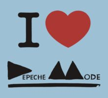 I Love Depeche Mode by AimLamb