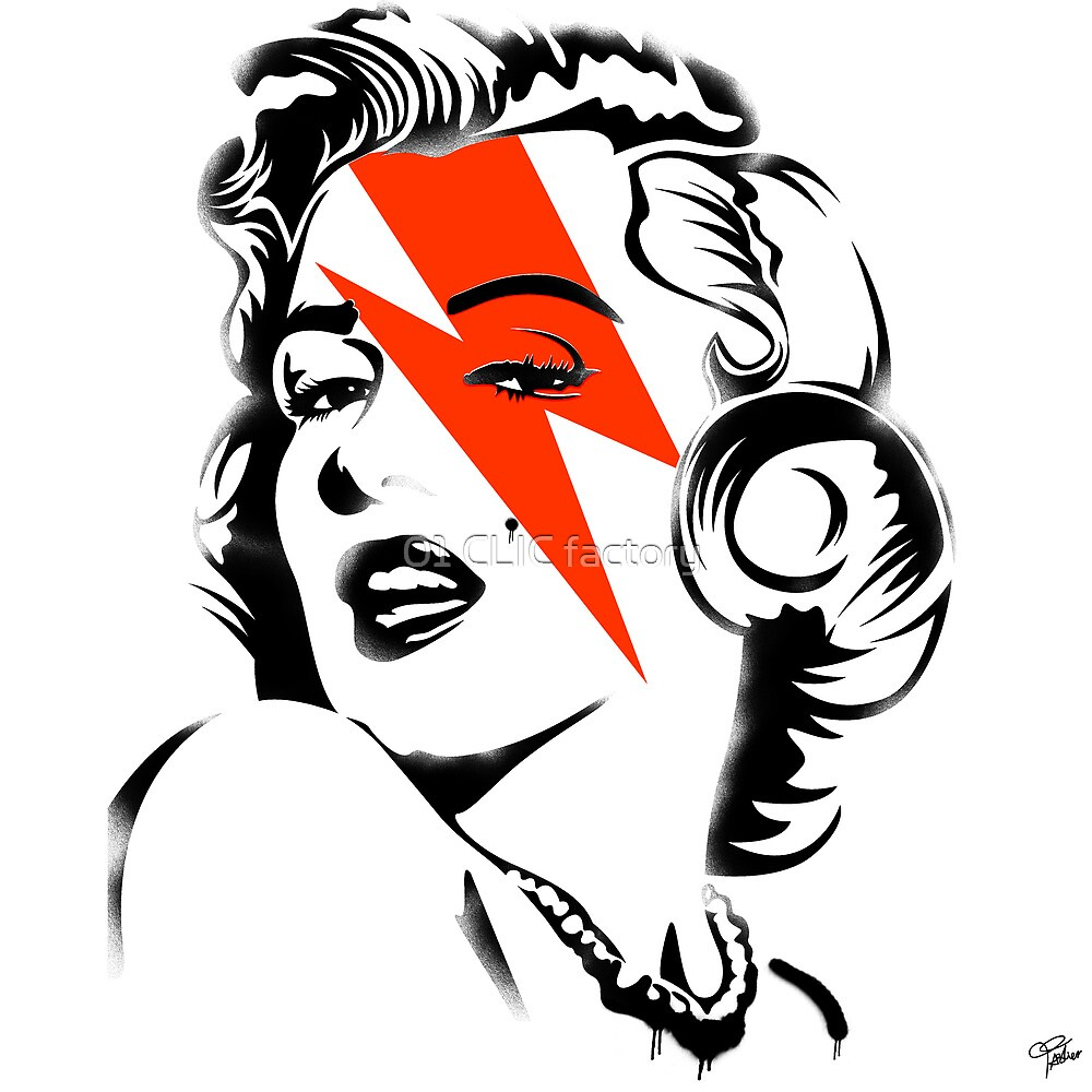 Red flash Marilyn stardust by PASLIER Morgan