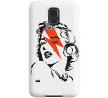 Red flash Marilyn stardust Samsung Galaxy Case/Skin
