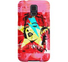 Blue flash Marilyn stardust 2 Samsung Galaxy Case/Skin