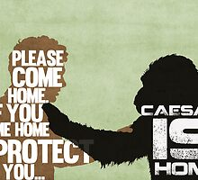 Rise of the Planet of the Apes: Caesar is Home by Jon Naylor
