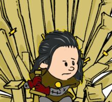 The Cardboard Throne Sticker