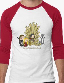 The Cardboard Throne extended cast Men's Baseball ¾ T-Shirt