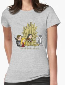 The Cardboard Throne extended cast Womens Fitted T-Shirt