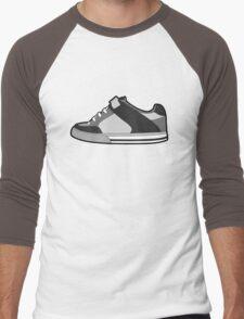 Black & White Sneaker Men's Baseball ¾ T-Shirt