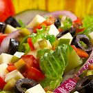 Salad close up horizontal by Franz Diegruber