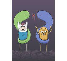 Adventure Time - Halloween Love Photographic Print