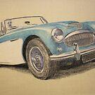 Austin Healey 3000 by Peter Brandt