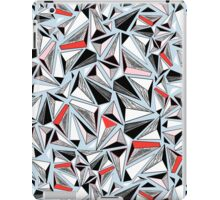 abstract pattern of graphic triangles iPad Case/Skin