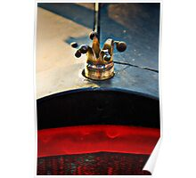 The Clown. Ford rat-rod radiator cover Poster