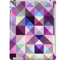 Interesting texture of colored triangles iPad Case/Skin