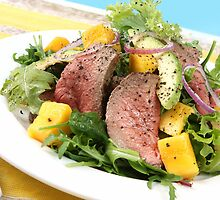 Spicy Beef and Mango Salad by franz168