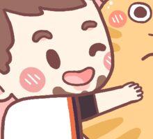 Skeeter Hugs Sticker