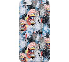 ornamental pattern of the animals and plants iPhone Case/Skin