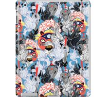 ornamental pattern of the animals and plants iPad Case/Skin