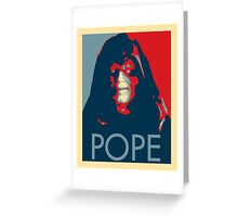 Pope? Greeting Card