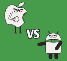 APPLE VS ANDROID Kids Tee