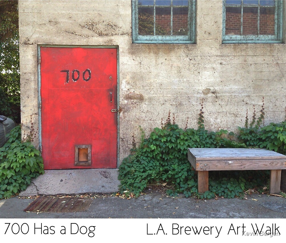 700 Has A Dog by Kevin Bergen