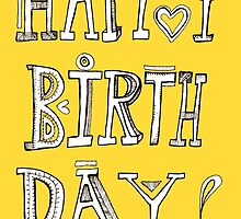 Happy Birthday card  by nefos