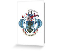 Coat of Arms of Seychelles  Greeting Card