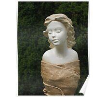 Gwen - Fabric Garden Sculpture close up Poster