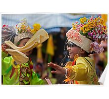 Thailand, Poy Sang Long, Buddha, Buddhism, Temple, Monk, Festival, Poster