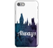 Always - Hogwarts Castle iPhone Case/Skin