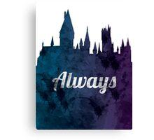 Always - Hogwarts Castle Canvas Print