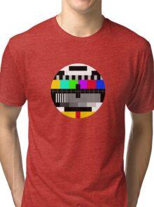 tv test Tri-blend T-Shirt