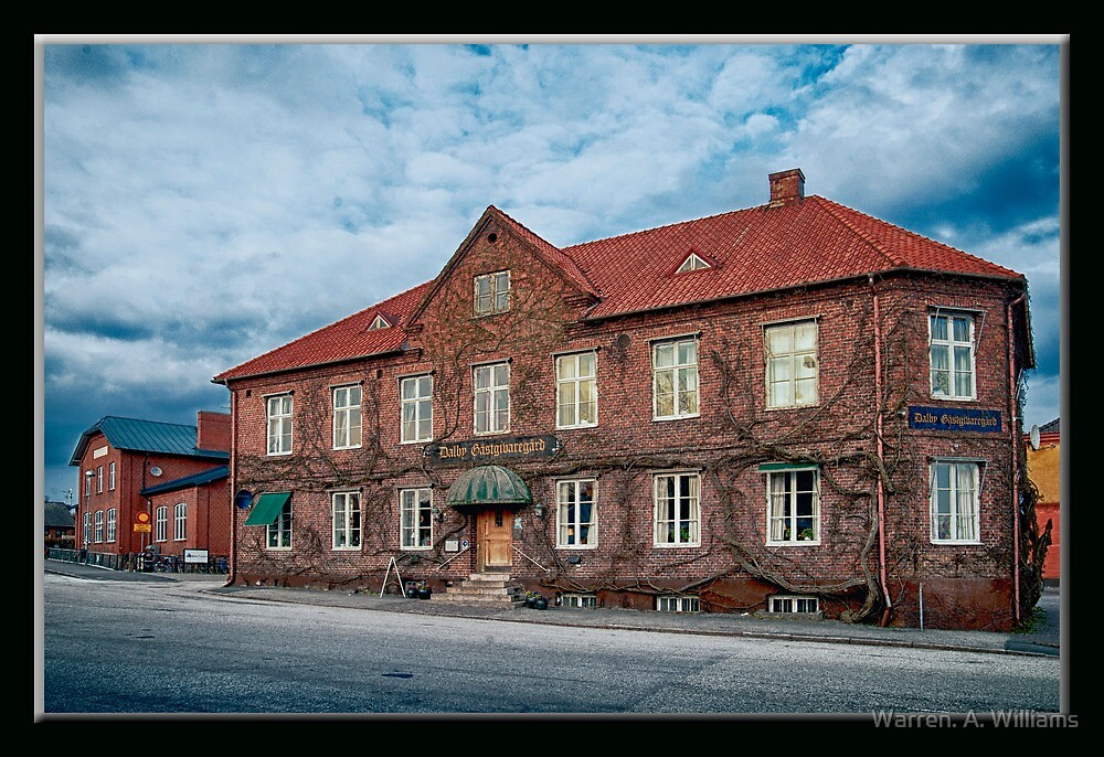 The Building Malmo Sweden by Warren. A. Williams