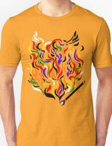 Paint a Fire! Unisex T-Shirt