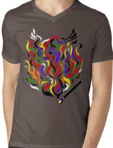 Paint a Fire! Mens V-Neck T-Shirt