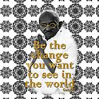 Gandhi by bluedamion