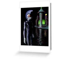 hip cyberpunk funk Greeting Card