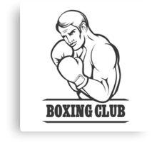 Boxing Club Canvas Print