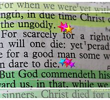 For scarcely for a righteous man will one die: by aprilann