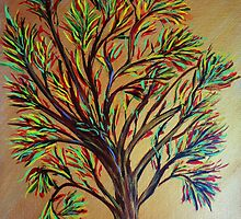 Tree/semi abstract by maggie326
