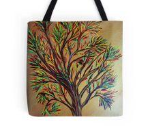 Tree/semi abstract Tote Bag