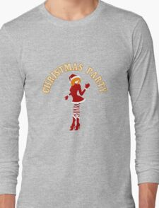 Christmas Party Design Long Sleeve T-Shirt
