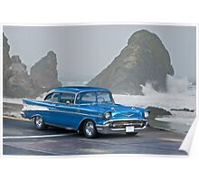 1957 Chevrolet F.I. Coupe Poster