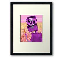 Junk Head Framed Print