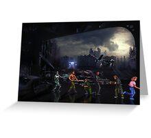 Terminator Sega Mega CD pixel art Greeting Card