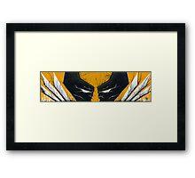 Wolverine Adamantium Rage Framed Print