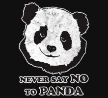 Never Say No To Panda by KDGrafx