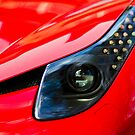 Ferrari 458 Abstract Wing / Light by Mark Battista