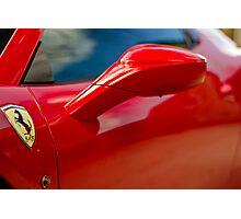 Ferrari 458 Abstract Photographic Print