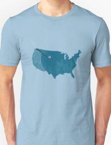 AmeriWhale The Beautiful Unisex T-Shirt
